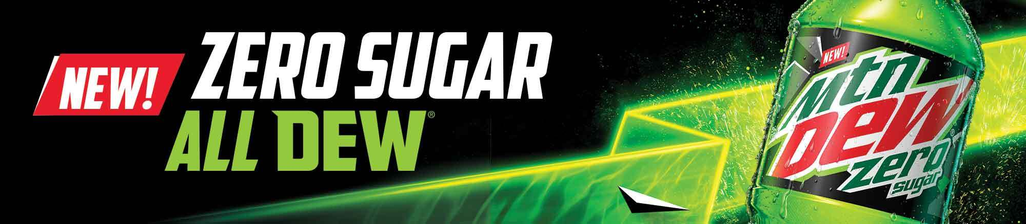 Mtn Dew Zero Sugar is finally here!