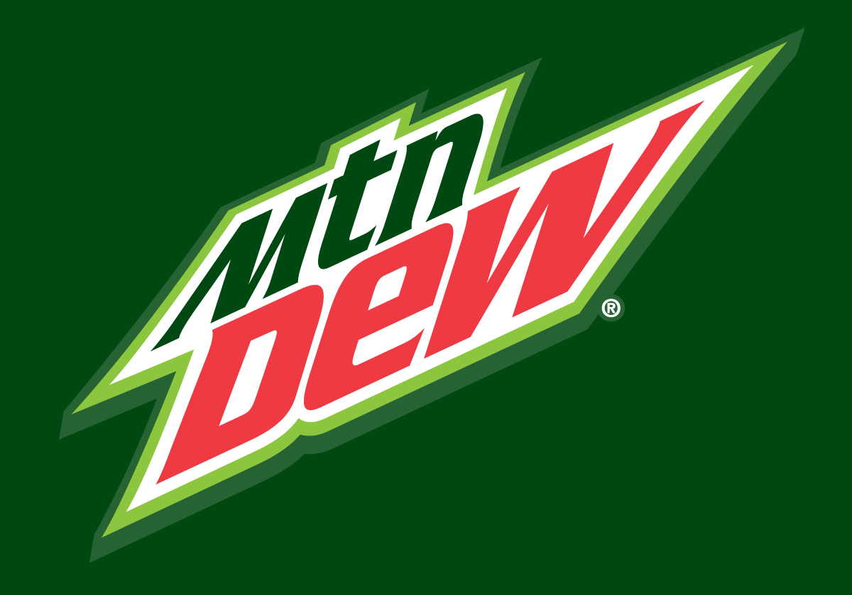 Image Gallery mountain dew logo